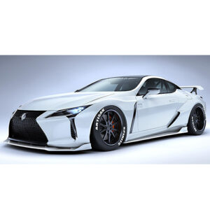Artisan Spirits Lexus LC BLACK LABEL GT Aero 3-Piece Kit