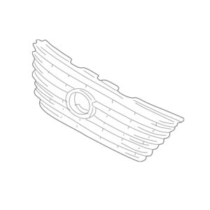 Lexus LS Phase 3 Radiator Grille (Without Pre-Crash)
