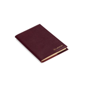 Lexus Aspinal of London Burgundy Journal